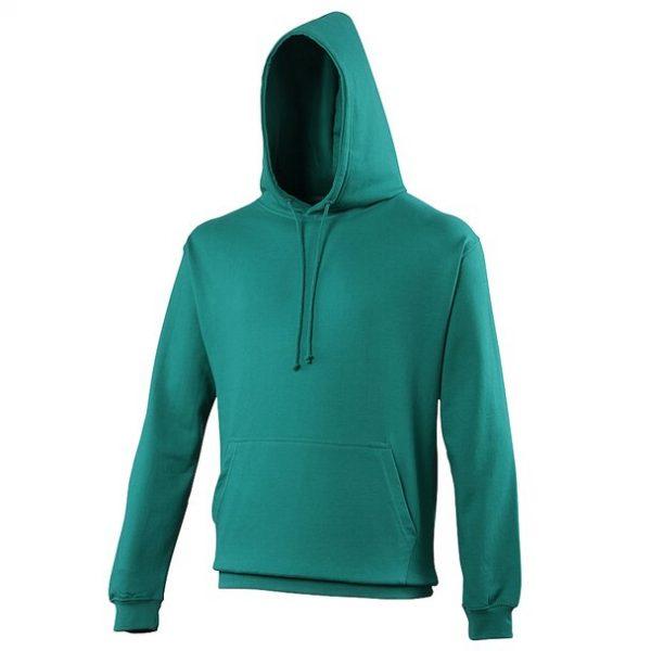 hooded t-shirt jade