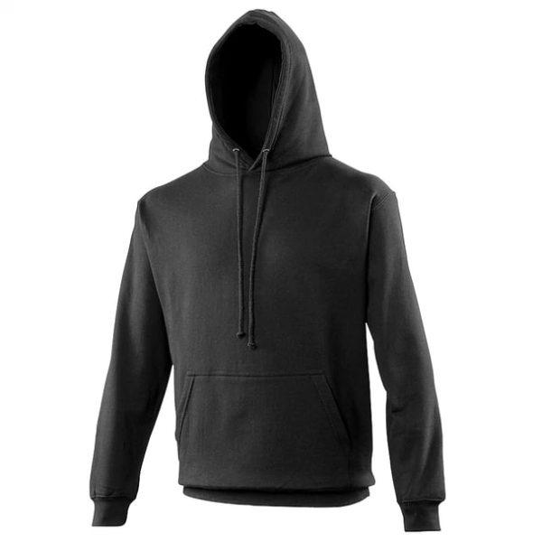 hooded t-shirt jet black