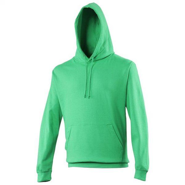 hooded t-shirt kelly green