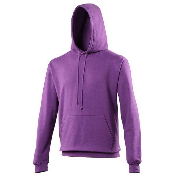 hooded t-shirt magenta magic