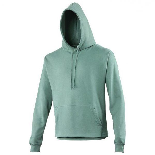hooded t-shirt moss green