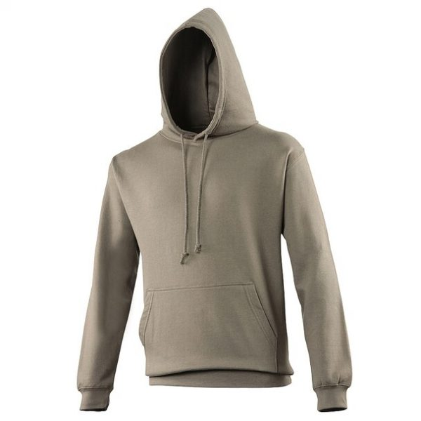 hooded t-shirt olive green