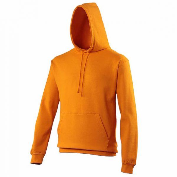 hooded t-shirt orange crush