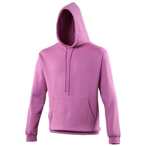 hooded t-shirt Pinky Purple