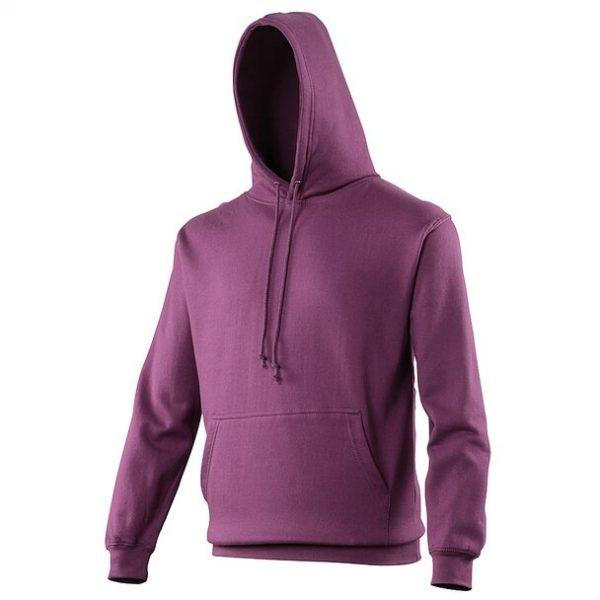 hooded t-shirt Plum