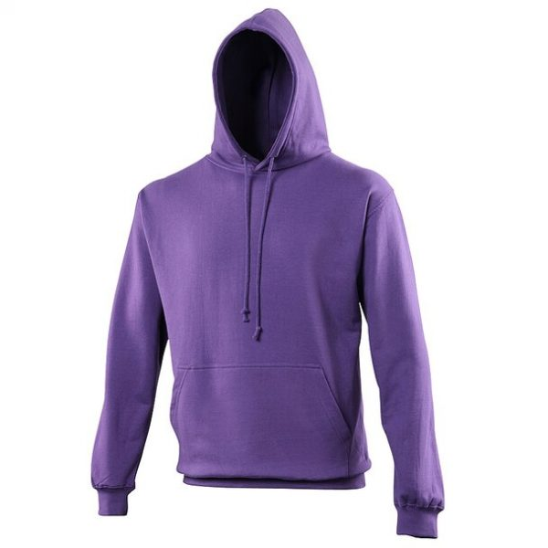 hooded t-shirt Purple