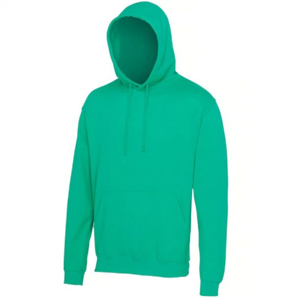 hooded t-shirt Spring Green