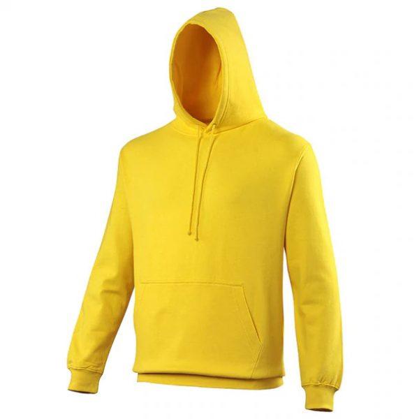 hooded t-shirt Sun Yellow