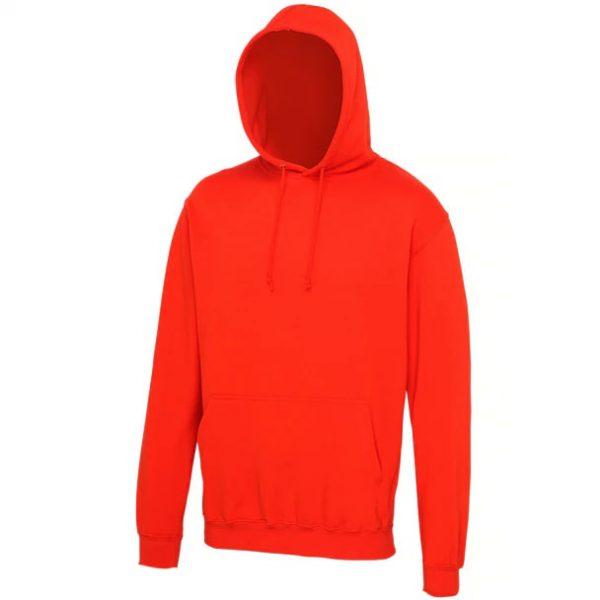 hooded t-shirt Sunset Orange