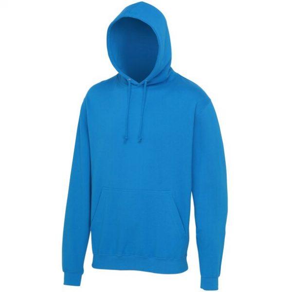 hooded t-shirt Tropical Blue