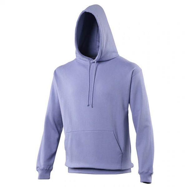 hooded t-shirt True Violet