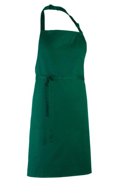apron bottle green