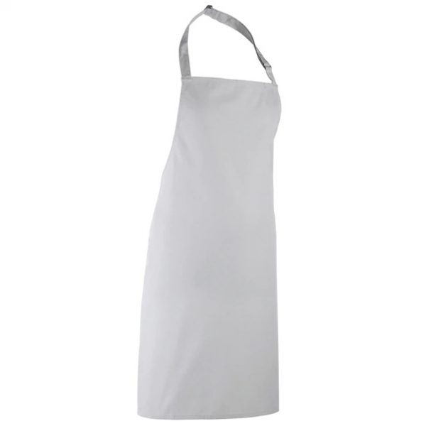 apron silver grey