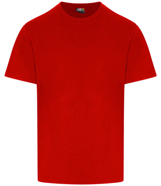 personalised t-shirt red front