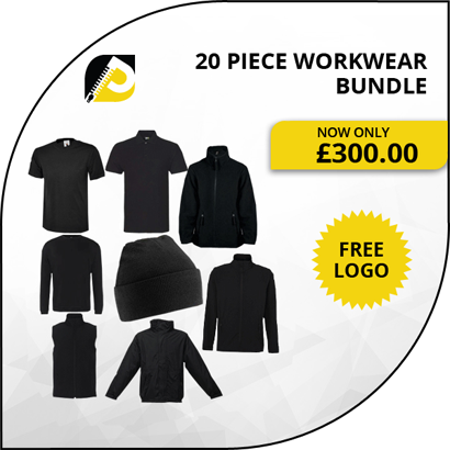 20 piece workwear bundle