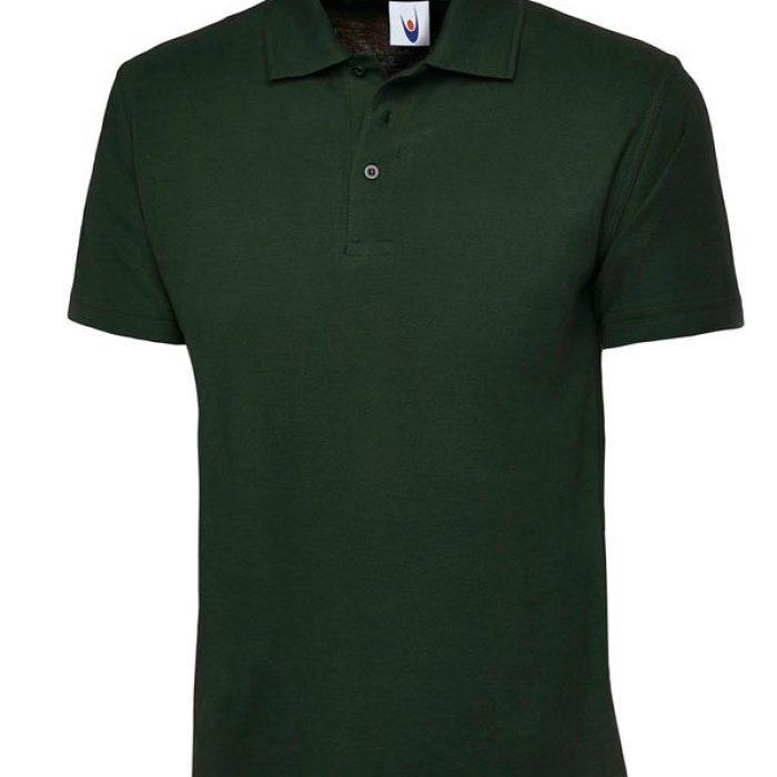 pique polo shirt UC101 green