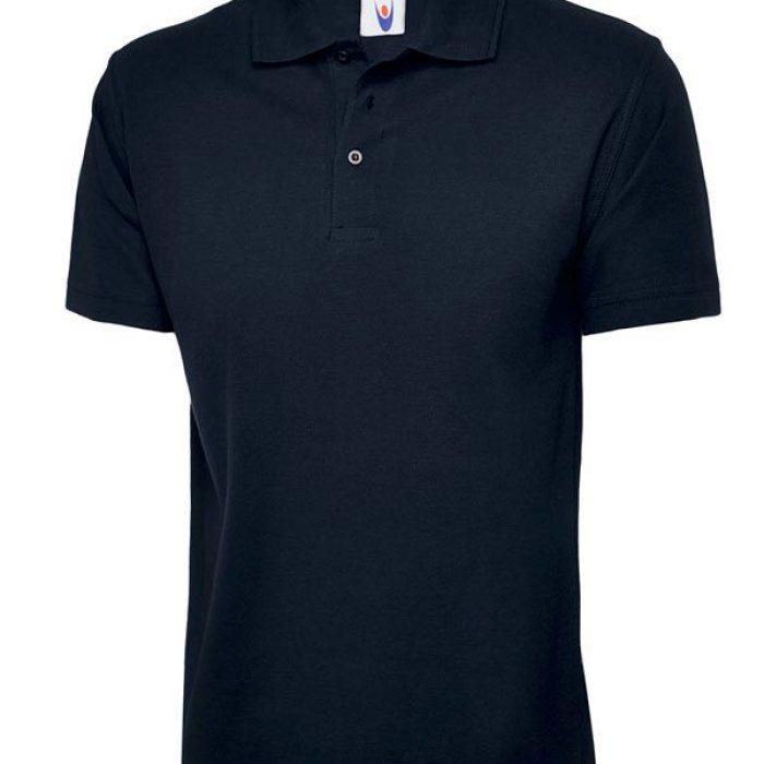 pique polo shirt UC101 navy