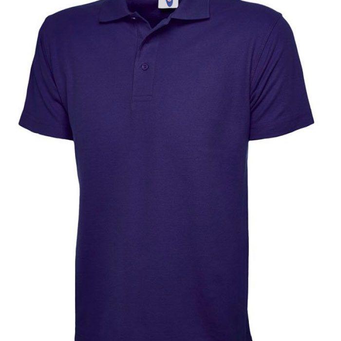 pique polo shirt UC101 purple